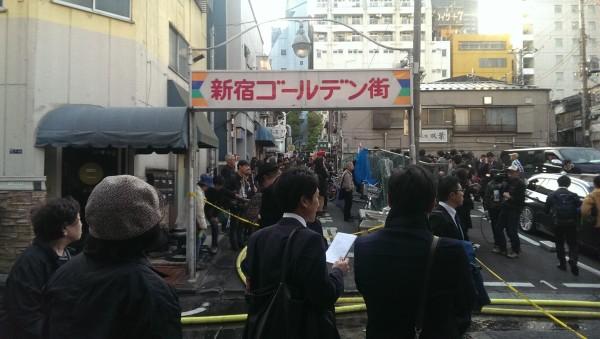 新宿ゴールデン街 火災 国民性